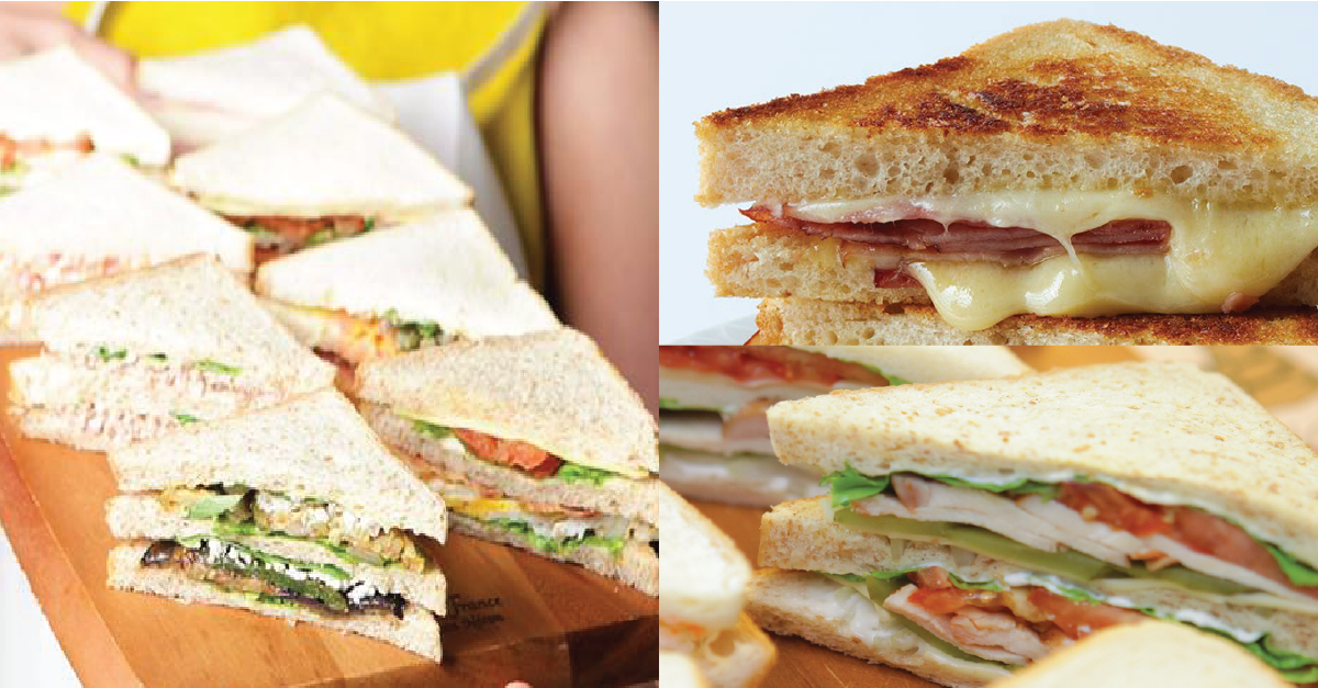 Hot and Cold Sandwich