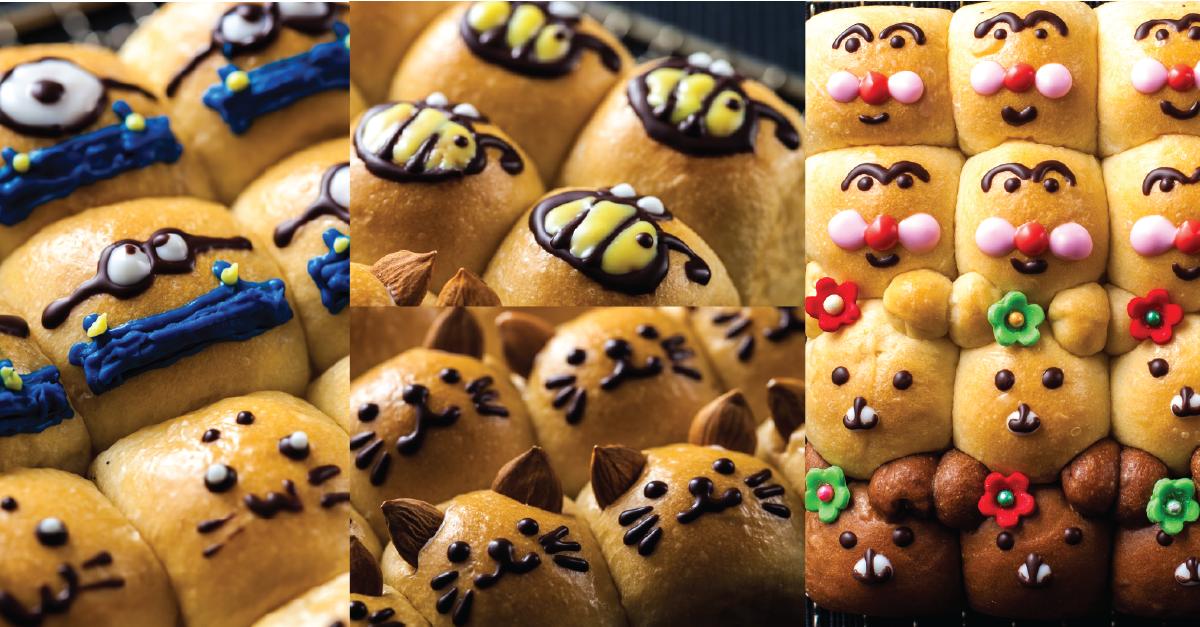 ขนมปังถาดสไตล์ญี่ปุ่น