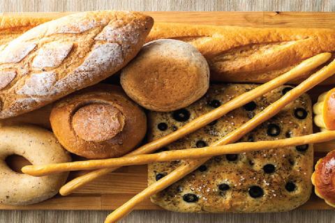 ประเภทขนมปัง