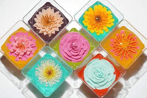 เจลลี่ดอกไม้สามมิติ (2)
